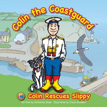 Colin Rescues Slippy book cover