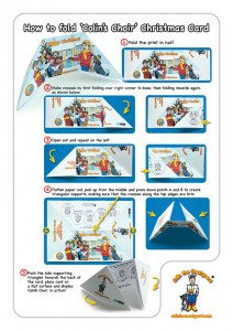 Christmas Card Instructions