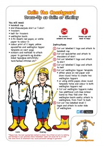 Dressing up kit instructions