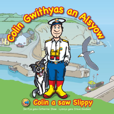 Colin a saw Slippy - Cornish language version