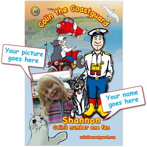 Colin the Coastguard Personalised Jigsaw Puzzle